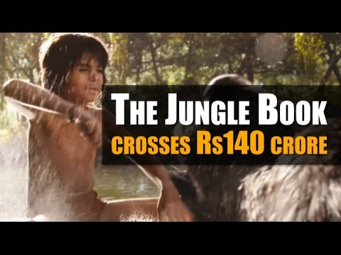 The Jungle Book crosses Rs140 crore mark in India. Watch video...