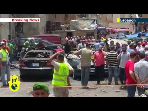 Syrian rebels suspected of Lebanon attack: car bomb causes carnage in Hezbollah area of Beirut