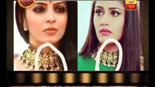 Ishqbaaaz: Ankia, Gauri wear same neck piece on set