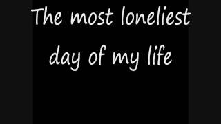 System of a Down - lonely Day [lyrics]