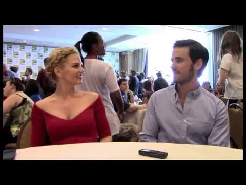 Jennifer Morrison and Colin O'Donoghue Interview-Once Upon a Time