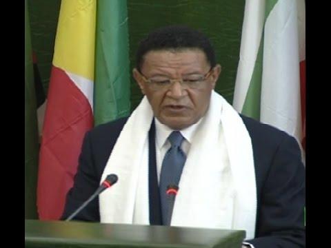 Ethiopian President Dr Mulatu Teshome's Parliament Opening Speech