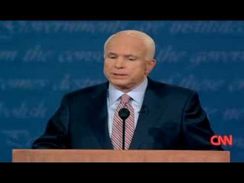 Obama & McCain debate Afghanistan @ Oxford, Mississippi