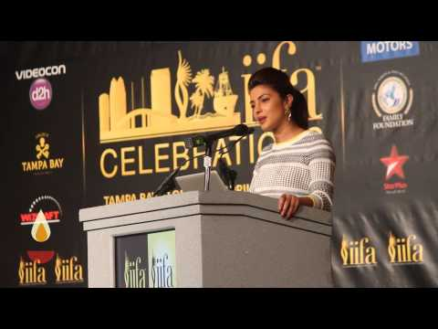 Priyanka Chopra at IIFA Tampa Press Conference!