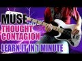 Muse Thought Contagion LEARN IT IN 1 MINUTE Play Along Tabs mp3