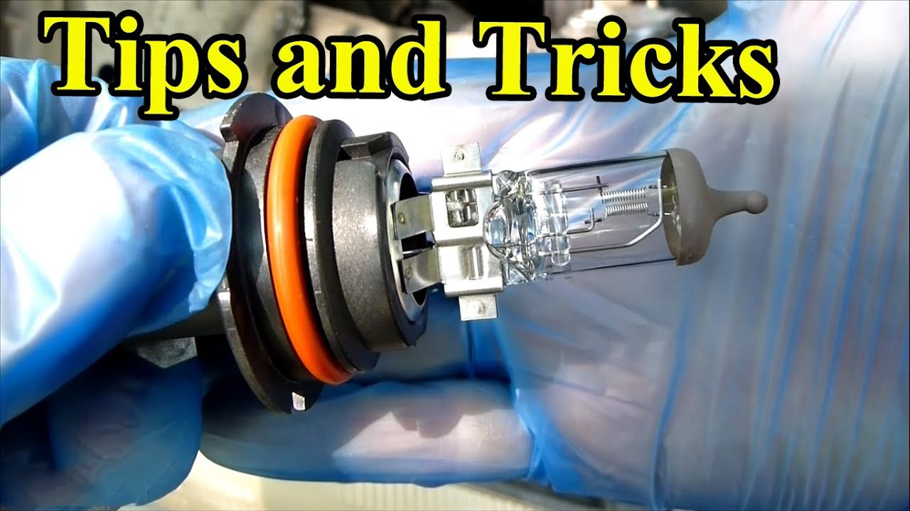 How To Replace A Headlight Bulb Tips And Tricks Youtube
