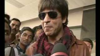 ShahRukh Khan at Breach Candy Hospital