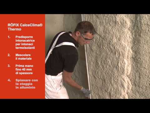 Video RÖFIX CALCECLIMA® THERMO su RÖFIX TV