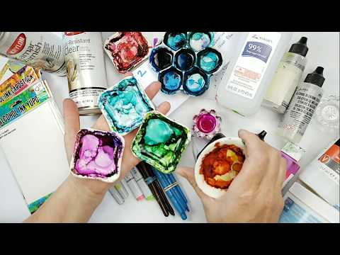 Basic 101 Alcohol Ink Techniques for Beginners