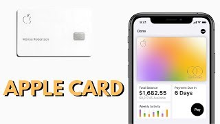NEW Apple Card with No Fees (Metal Card)