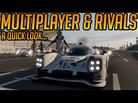 Forza 7 Multiplayer & Rivals Mode (A Quick Look)