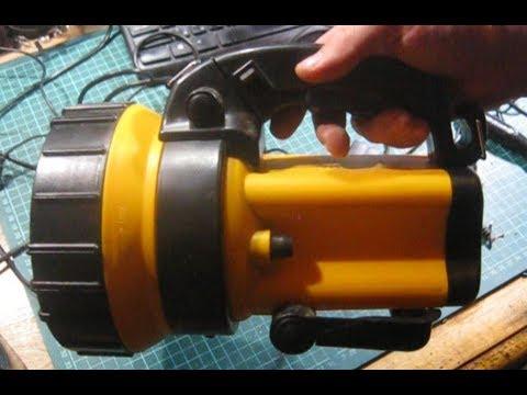 Переделка ручного фонаря на Li Ion 18650