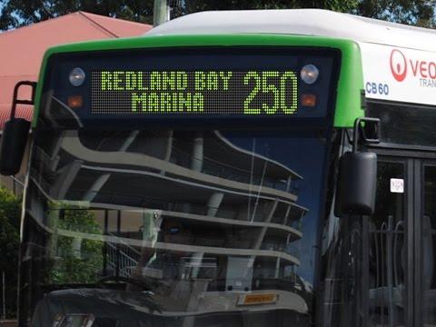 Route 250 - Brisbane City to Redland Bay Marina