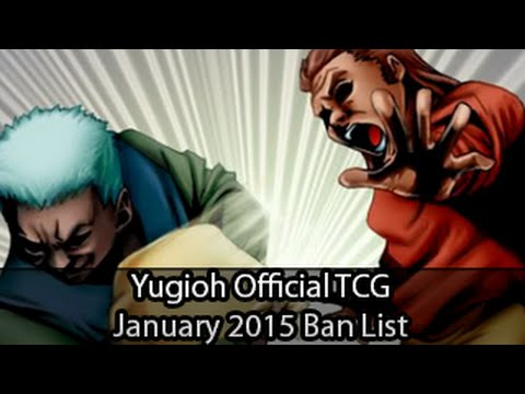 Official Yugioh Tcg Ban List January 2015 video