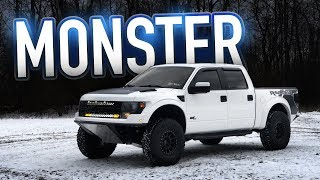 Modified 6.2L BEAST — 2014 Ford Raptor Review-Now This is a Monster Truck!