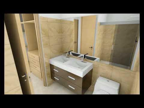 Casa moderna minimalista interior 6m x 12,50m