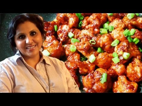 Cauliflower Manchurian / Gobi Manchurian Recipe