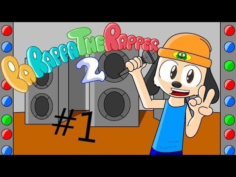 Обложка игры parappa the rapper