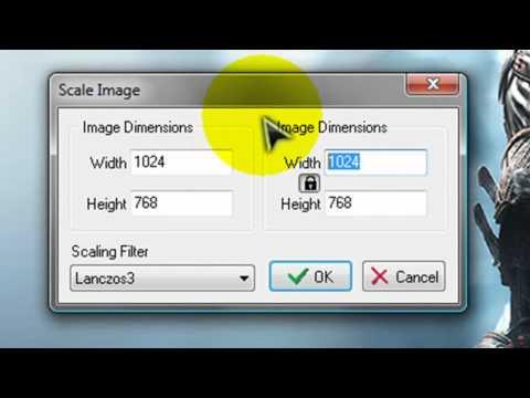 Como cambiar el tamaño de una imagen sin perder calidad