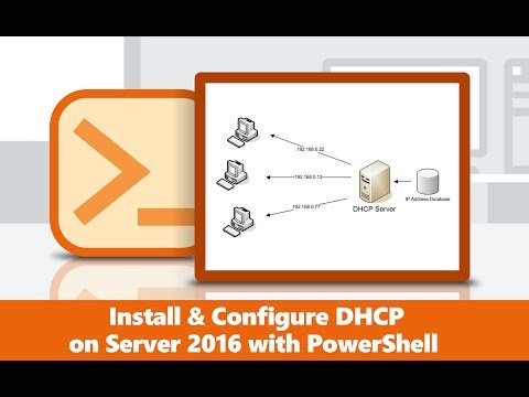 How to Install and Configure DHCP on windows server 2016?| Install with PowerShell?