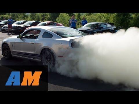 MAR 2014: 709HP GT500 PLUS Blown 2014 GT Near Crash! - AmericanMuscle