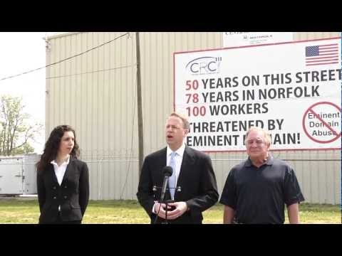 Central Radio Company, Inc., et al. v. City of Norfolk, Virginia press conference