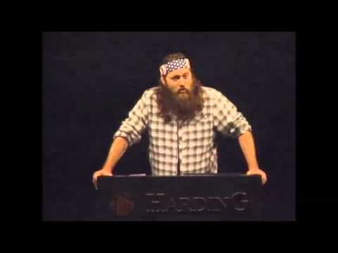 Duck Dynasty's Willie Robertson Speaks About His Faith at Harding University [FULL VERSION]