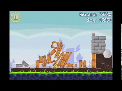 Angry Birds Lite | 3 Star Walkthrough | Level 11
