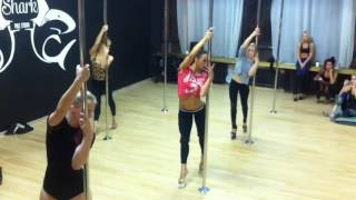 Moscow workshop SHIKULA exotic pole dance medium level
