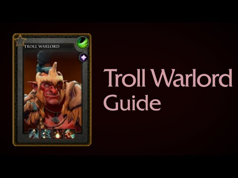 Troll Warlord guide (in English and Russian)
