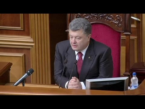 Ukraine president dissolves parliament and names October election date