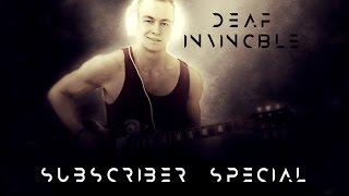 download lagu Deaf Kev - Invincible Guitar Cover 10k Sub Special gratis