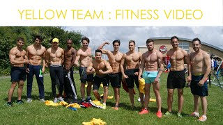 The Yellow Team Fitness Video : Mr World 2016