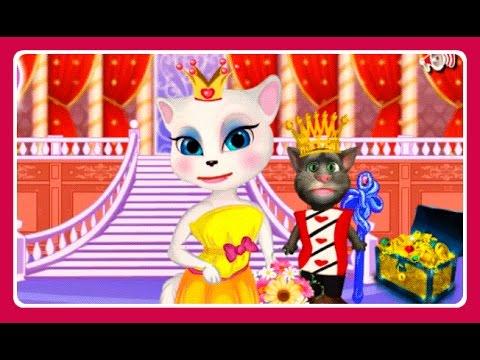 Моя Говорящая Анжела, Кот Том и Кот Джинджер - Королевская Семья