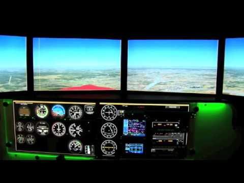 TNT Air's Redbird FMX 1000 Full Motion Simulator