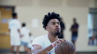 Newly Los Angles Lakers G QUINN COOK workout w/ Keith Williams after DAY 1 of his camp!!