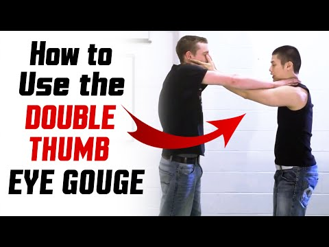 Wing Chun Techniques - Double Thumb Eye Gouge Image 1