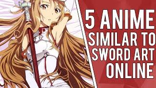 5 Anime Similar To Sword Art Online