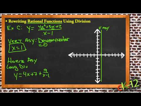 Rewriting Rational Functions Using Division: A Sample Application