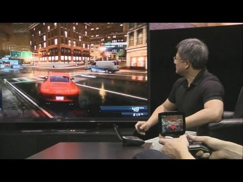 NVidia Project SHIELD announcement CES 2013 - Eurogamer