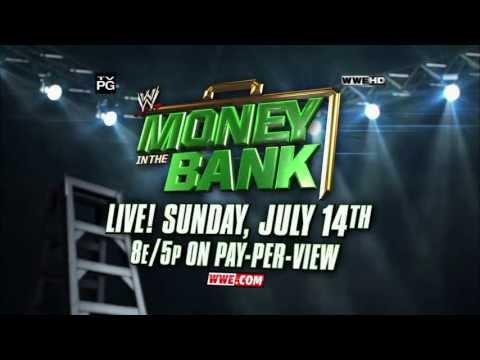 WWE Money in the Bank: Live on Pay-Per-View July 14, 2013