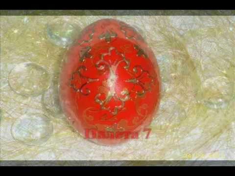 Farbanje jajca - Crvena boja - Paleta 7
