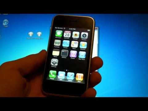 How To Unlock iPhone 3Gs/3G 4.2.1/4.1 Using Ultrasn0w - Windows Version 5.14.02 & 5.15.04