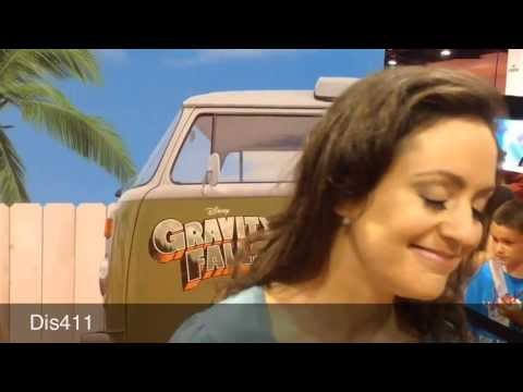Kali Rocha Interview 2013 D23 Expo