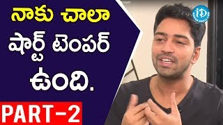 Actor Allari Naresh Interview Part #2 || Talking Movies with iDream