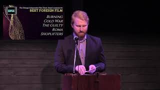 CIFCC Best Foreign Film 2019
