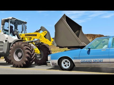 BeamNG Drive HIGH SPEED CRASHES #67