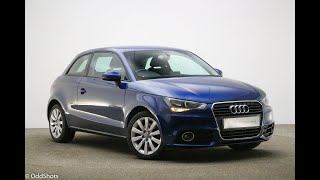 FN63UJL AUDI A1 TFSI SPORT BLUE 2013, Reading Audi