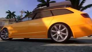 GTA IV San Andreas BETA - Audi A6 Avant Stanced 2012 - vs 2.0 + Download