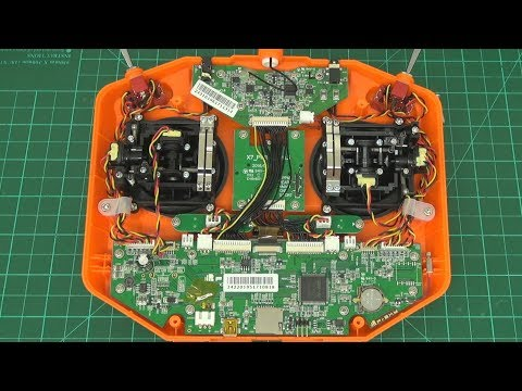 FrSky Taranis Q-X7 teardown and review